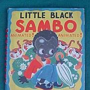 Animated Little Black Sambo Children's Book