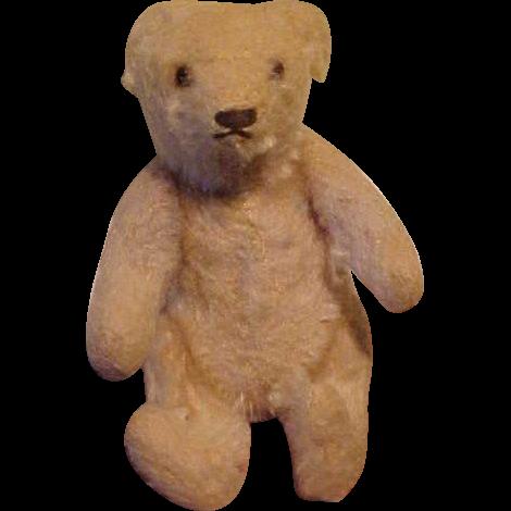 Sweet White Mohair Miniature Teddy Bear