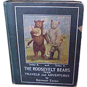 1906 Roosevelt Bears Children's Book By Seymour Eaton