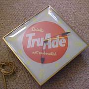 Pam Lighted TruAde Advertising Clock
