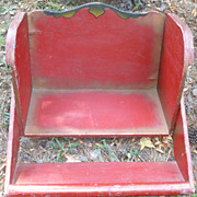 SALE Child's Wooden Carnival Ride Seat