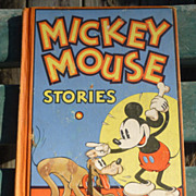 SALE Disney 1934 Mickey Mouse Stories Book 2