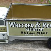 Marx Glendale Wrecker & Repair Service Toy Truck
