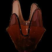 Beautiful Amethyst Art Glass - FREE US SHIPPING