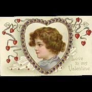 Ellen Clapsaddle Valentine Child Heart Garre Publishing
