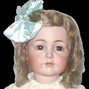 "24"" Kammer & Reinhardt 117 Brown SE Original Wig Costume & Box"