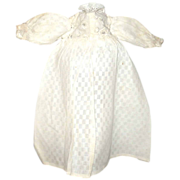 19th Century Doll Dress Pulled Work Skirt* Broderie Anglaise  Bodice
