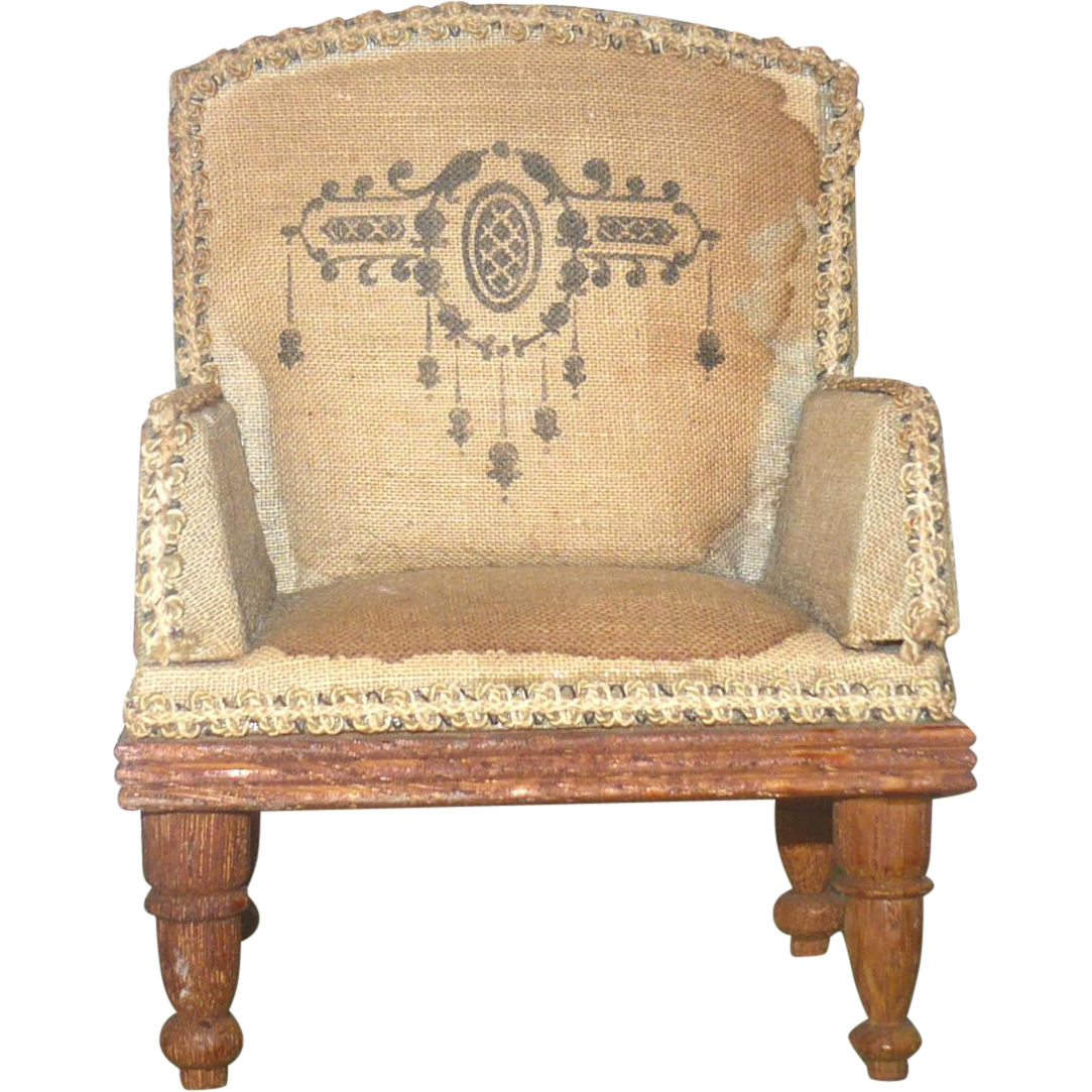 Antique 4 Linen Upholstered Arm Chair For Mignonette Wood Frame And . Full resolution  photograph, nominally Width 1083 Height 1083 pixels, photograph with #976D34.