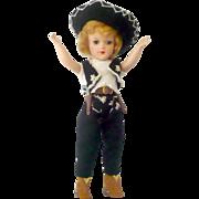 Pattern Knit Caballero Costume for 14 Inch Mary Hoyer Sombrero Bolero Pants
