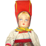 Fine 16 Inch Lucia Face Lenci Girl in Traditional Sami Regional Finnish Costume Silver ...