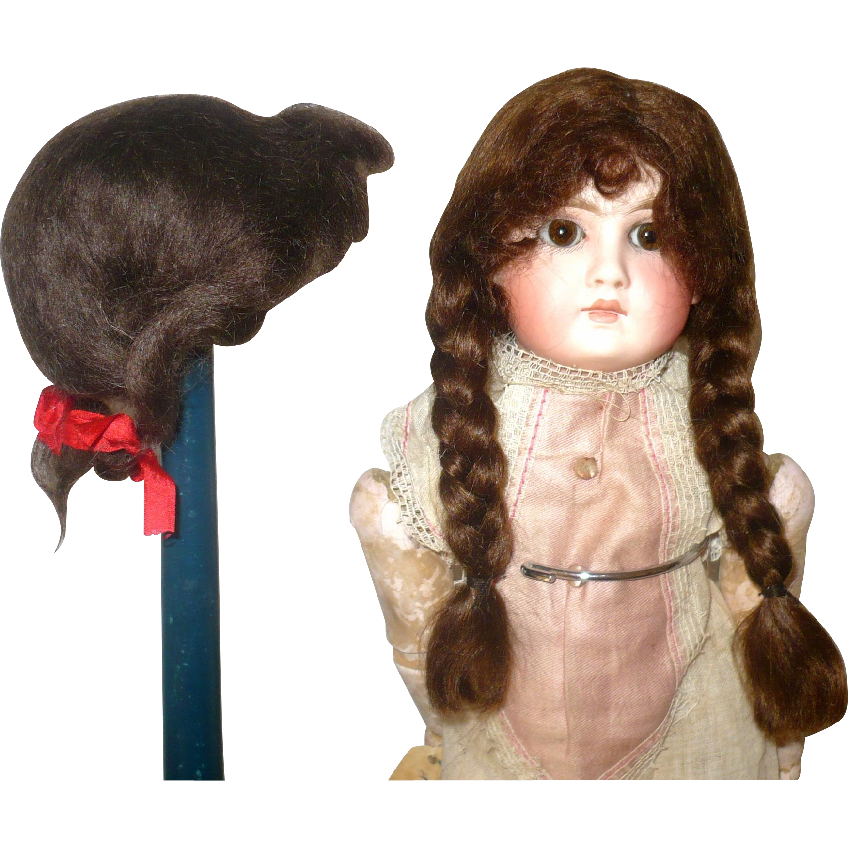 Mohair Wigs Doll 72