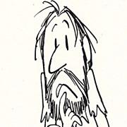 American Art - Any Sane Man: Original 1960 Cartoon Art by Claude