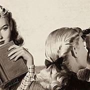 American Art - Michael Silver: Peggy Makes the Grade, 1947 Original Illustration Art