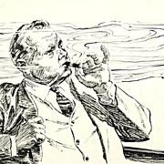 "American Art - Hal Stone: ""A Single Whiff"", 1961 story illustration"