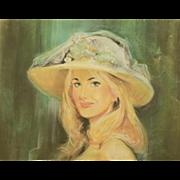 American Art - Bruce Howson: Portrait in Green