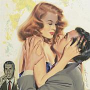American Art - Bernard Burroughs: Love Triangle