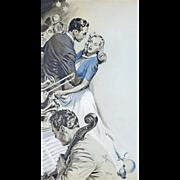 American Art - Joe Little 1944: Beyond Expectation 2, Original Illustration Art