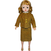 Vintage Tweed Corduroy Suit for Madame Alexander Cissy Doll 3 Piece