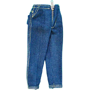 Barbie Doll Picnic Set 1959-61 Clam Digger Jeans Pristine Mint Condition