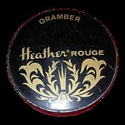 Vintage Heather Rouge Ladies Compact