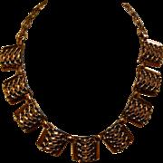 Vintage Copper Adjustable Necklace