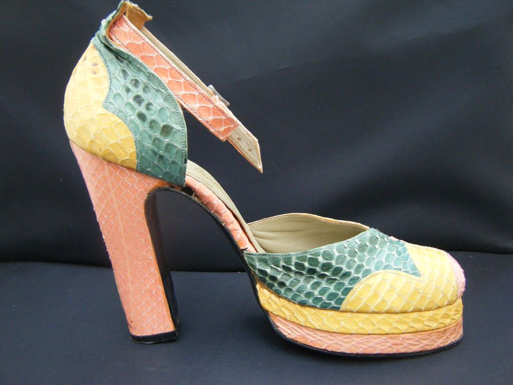 Original 1970's Terry De Havilland Platforms.