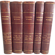 The Works of Charles Dickens, Chapman and Hall's Five Volume Illustrated Edition