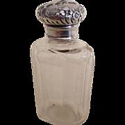 Ladies 1901 English Hallmarked Dressing Table Vanity Bottle