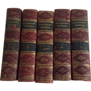 Waverly Novels, Edinburgh, in Five Volumes, 1891