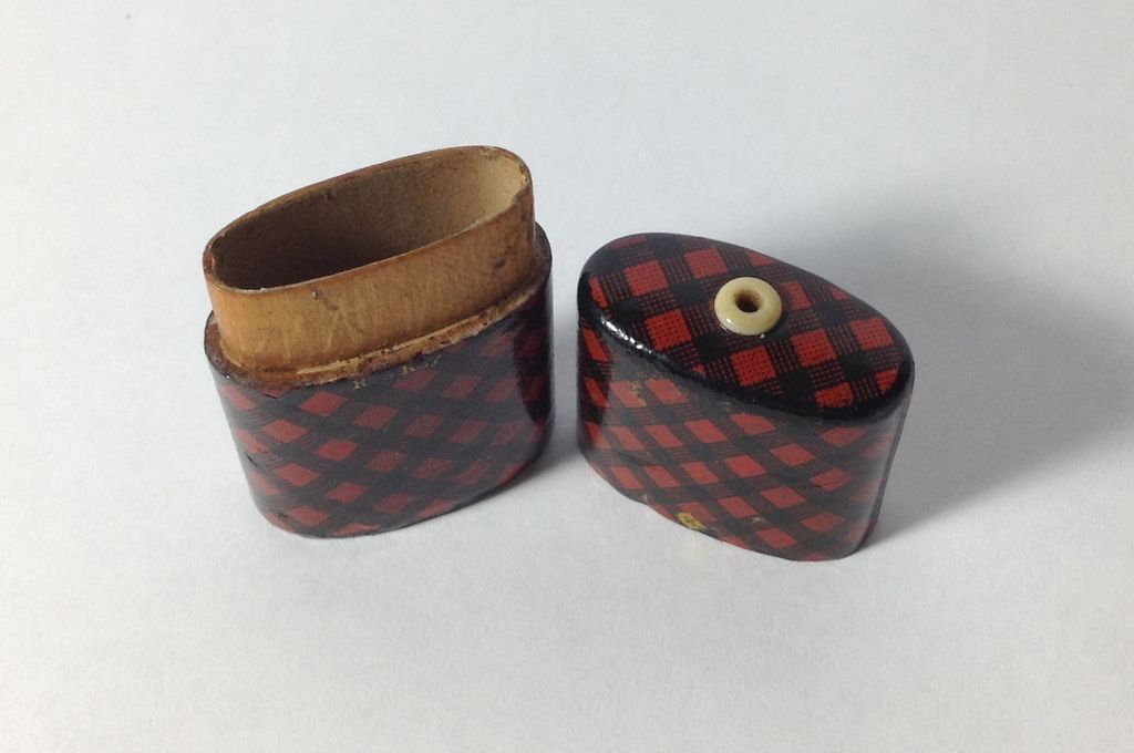 Victorian Rob Roy Tartan Ware, 'Go-To-Bed' from annecharles on Ruby ...