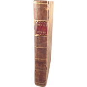 Leather Book of Letters of Lady Rachel Russell About the Trial of Lord William Russell ...