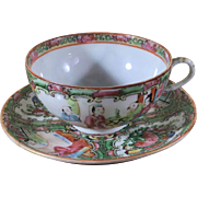 Rose Medillion Cup and Saucer Set