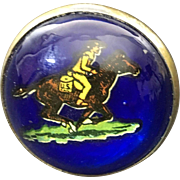Horse Bridle Button U.S. Pony Express