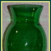 Anchor Hocking Forest Green Coolidge Vase