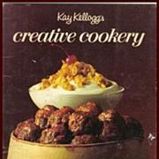 Kay Kellogg's Creative Cookery ~ Free Shipping