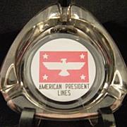 American President Lines Ashtray