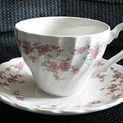 SOLD Franciscan Brides Bouquet Tea Cup and Saucer