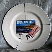Royal Overhouse Bristol Majestic Monte Carlo Cafe Deux Canards plate