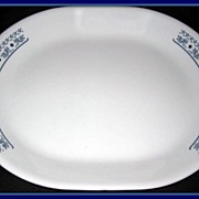 Corning Corelle Blueberry Oval Platter