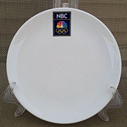 NBC Olympics Appetizer Plate Set