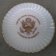 Lenox U.S. Savings Bonds Commemorative Dish