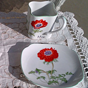 Toko Botanical Art Collection March Cup & Saucer by Y. Ohta
