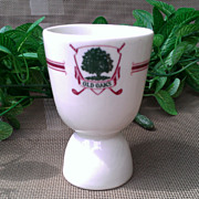 Vintage Old Oaks Country Club Egg Cup