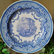 """SOLD Spode Blue Room Collection """"Continental Views"""""""