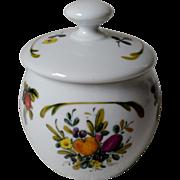 Gerold Porzellan Fruit Jam Pot with Lid West Germany #7883