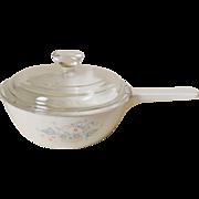 Corning Country Cornflower Menu-ette Sauce Pan with Lid