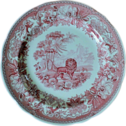 SALE PENDING Spode Archive Collection Aesop's Fables' Dinner Plate