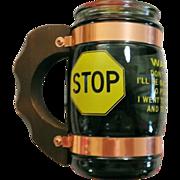 Siesta Ware 1973 Beer Mug Went to Pee
