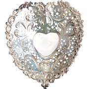 SOLD Sterling silver Heart Shaped Dish by Gorham