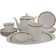 SALE Elizabethan Spode Dessert Tea Service Set Fine English Bone China circa 1962-1971